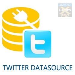 Custom DataView - Twitter Datasource by Moore Creative