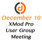 XMod Pro Online User Group Meeting - December 2015