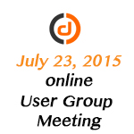 XMod Pro Online User Group Meeting - July 2015