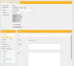 Drag and drop form builder makes creating forms a cinch